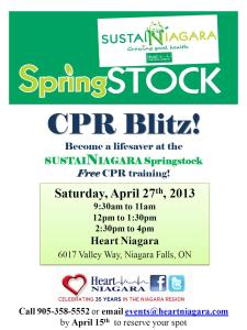 Springstock CPR Blitz